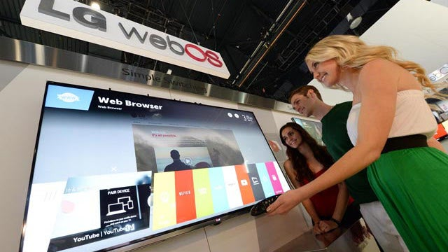 LG Will Power 70 Percent of Its New Smart TVs With WebOS