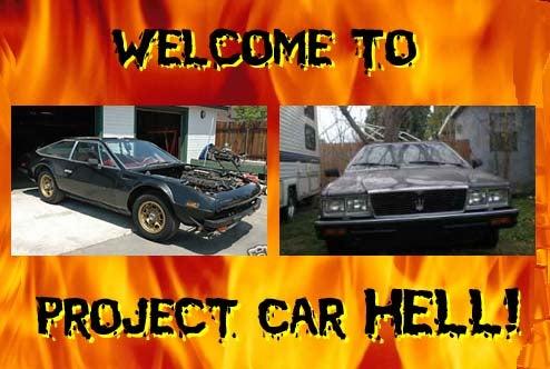 PCH, Dante Alighieri Thinks You Deserve It Edition: Lamborghini Jarama Or Maserati Quattroporte?