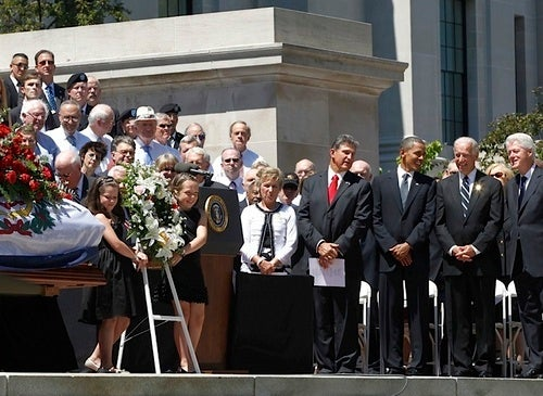 Washington Takes Over West Virginia for Byrd Funeral