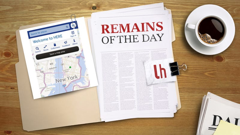 Remains of the Day: Nokia's iOS Maps Leave a Lot to Be Desired