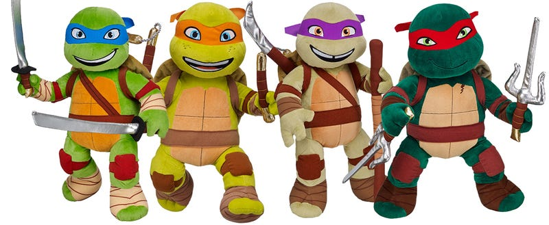 I Wish The Movie Turtles Looked More Like Build-A-Bear's Turtles