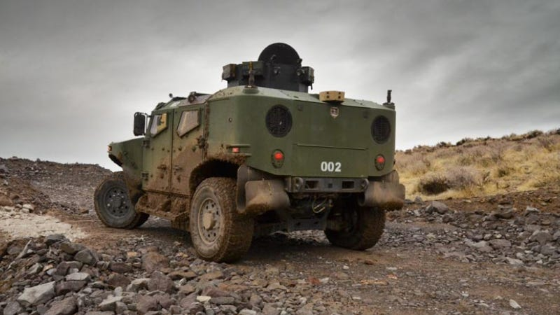 A Subaru-Powered Hybrid Truck May Replace The US Army's HUMVEE