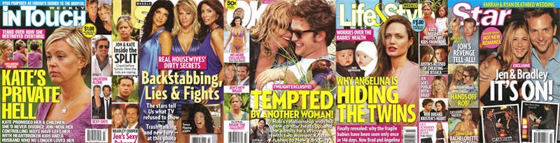 This Week In Tabloids: Angelina's Twins Are Sick; Real Housewife Sex Tape Secrets
