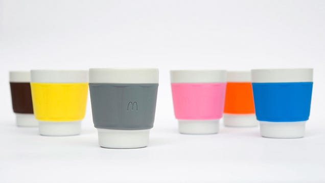 These McDonald's Coffee Cups Probably Look Better Than Your Mugs at Home