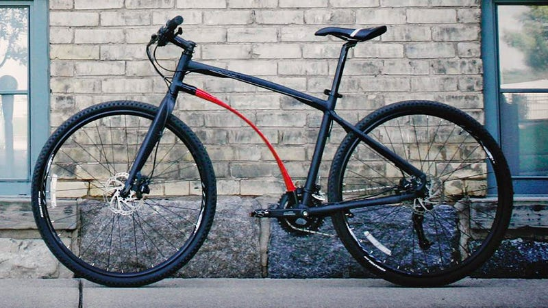 This Bicycle's Frame Acts As a Shock Absorber