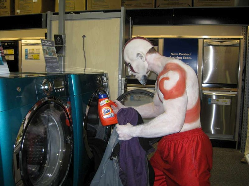 The God of War Needs to Do Laundry Too