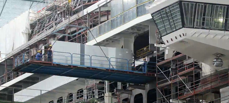 Cruise Ship Cabins Are Built on an Assembly Line Just Like Cars
