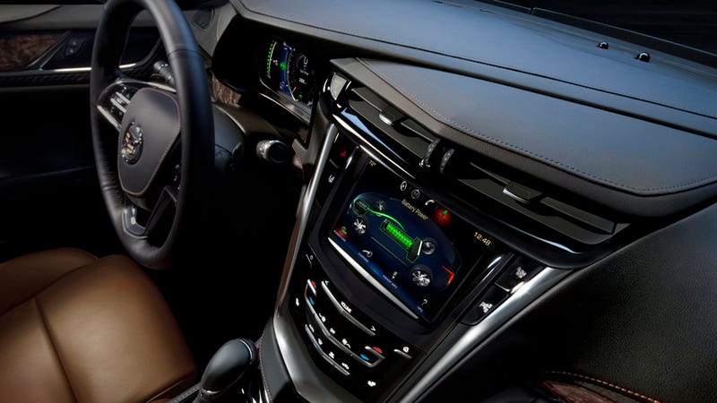 The 2014 Cadillac ELR's Interior Looks Good For Grandpa
