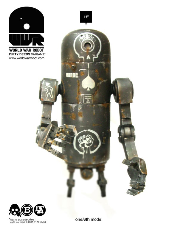 io9 Talks To Half Of World War Robot
