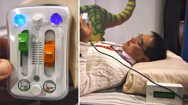 Pleo Makers Design a Self-Adjusting Robot Pillow