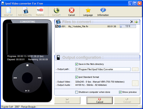 Download of the Day: iPod Video Converter (Windows)
