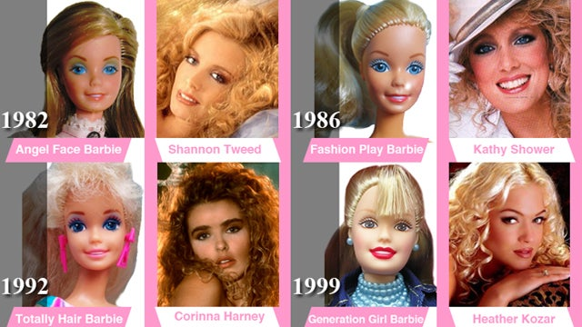 Barbie's Surprising Resemblance To The Playboy Bunnies Of Her Time