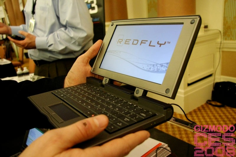 Hands-on With Redfly's Windows Mobile Portable