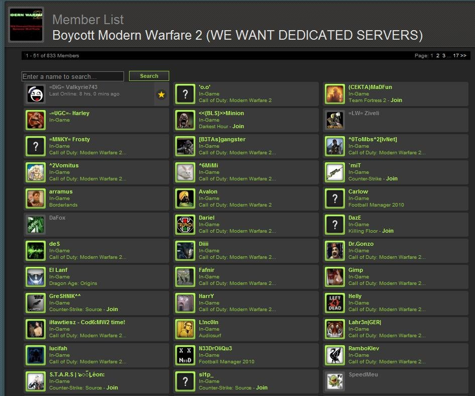 modern warfare 2 matchmaking server down Iw4x – modern warfare 2 at your own dedicated servers with modifications for modern warfare 2 on top of a no matchmaking, but dedicated and listen servers.