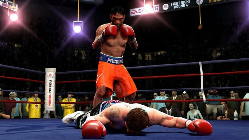 EA Sports Prediction Of Hatton-Pacquiao Fight Technically A Knock Out