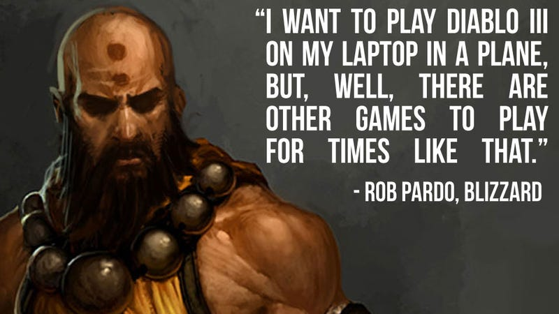 There are Other Games to Play On a Laptop (at an Airport) Besides Diablo III