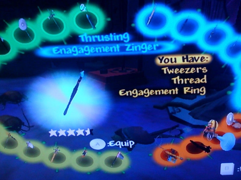 Engagement Ring Is This Game's Deadliest Thrusting Weapon