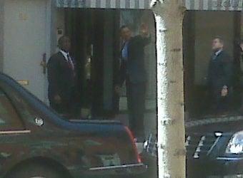 Bill Clinton & Barack Obama: W 3rd & Thompson