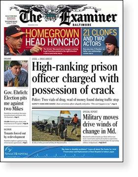 Baltimore Examiner Folding