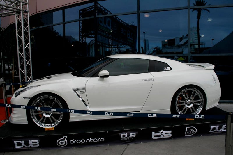 Branew Nissan GT-R Is All Show And No More Go For SEMA