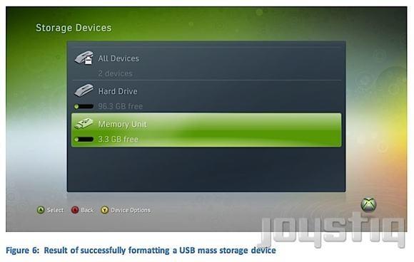 LEAK: Xbox 360 to Support USB Mass Storage