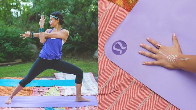 Lululemon's Patented Yoga Mat Has Been Deemed the Best There Is