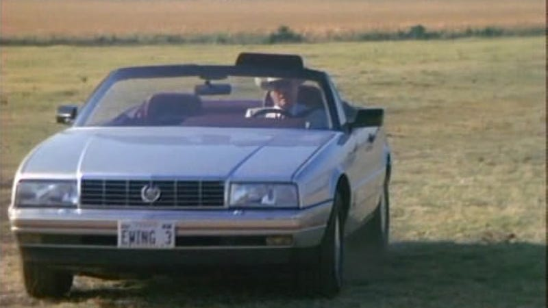 Dallas' J.R. Ewing Knew How To Ride In Style