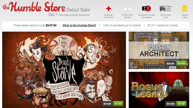 Welcome To The Humble Indie Store