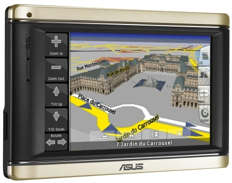 Asus R700 3D GPS Navigator and Portable Media Player Mutant