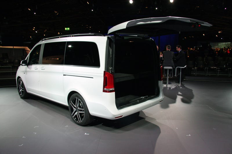 The Mercedes-Benz V-Class Is A Luxury Minivan You Might Actually Like