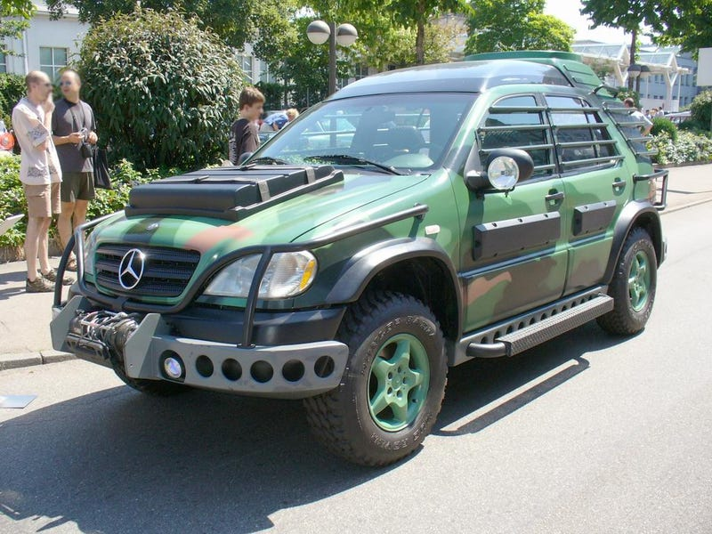 Mercedes Will Battle Dinos Again In New Jurassic Park Movie, With 6WD
