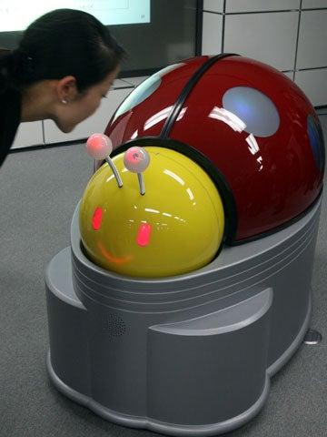 Japanese Toilet Bug Makes Small Talk