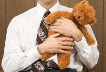 25 Percent of Grown Men Travel With Stuffed Animals