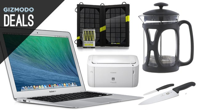Deals: $250 Off MacBook Airs, $10 Lightning Cable, Solar Phone Charger