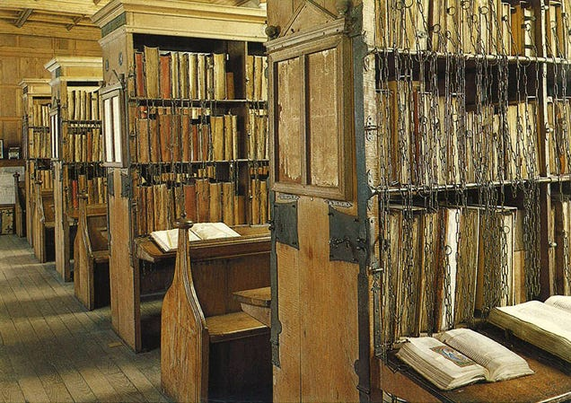 Medieval Libraries Developed A Crude GPS System To Locate Books