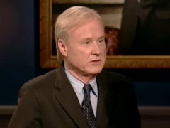 Weary Chris Matthews Breaks Colbert/Clinton News Embargo