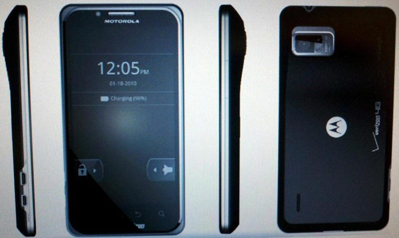 Three Motorola Android Phones Leak Out, With the Targa Showing a Sizeable Camera Hump