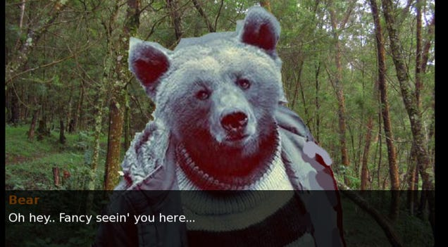 I Hope Bear Senpai Notices Me...
