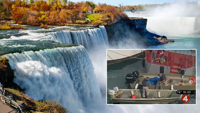 Woman Swept to Her Death Over Niagara Falls