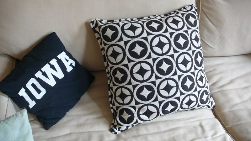 How To Ditch Your Boring Throw Pillows For Something Cooler