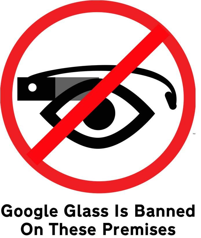 "La web ""Stop the cyborgs"" quiere prohibir Google Glass en lugares públicos"