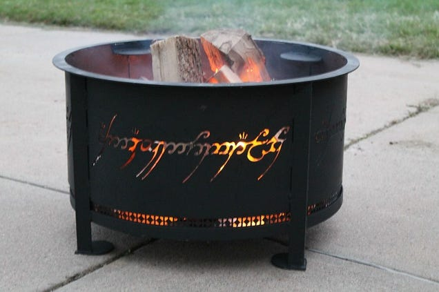 Every Backyard Was Sorely Lacking in the Fires of Mount Doom. Until Now.