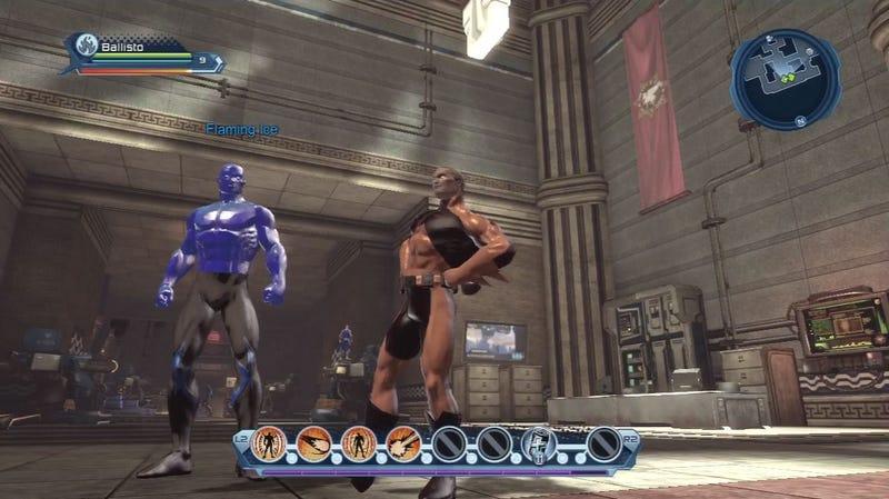 D.C. Universe Online MMO Log Screens