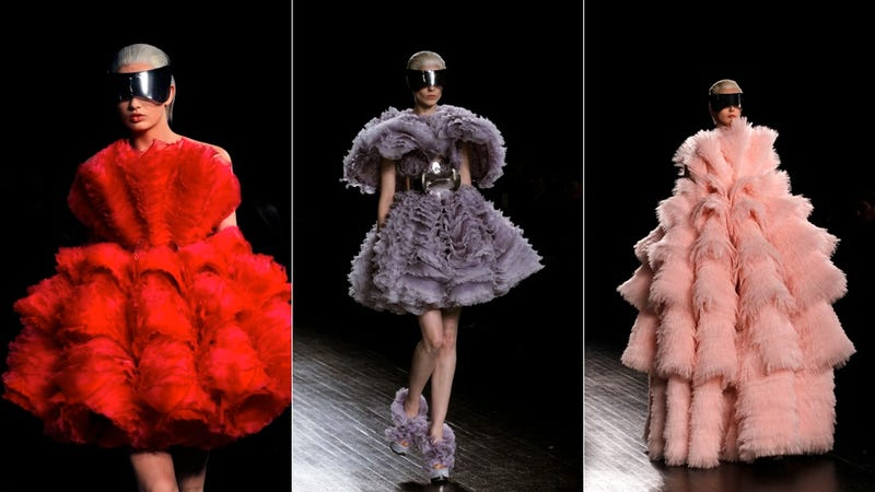 Alexander McQueen, for Aphrodites in Search of Clam Shells