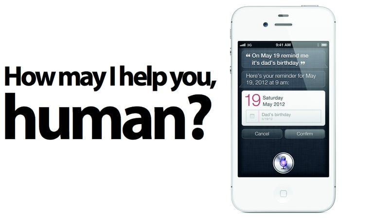 Siri Personal Assistant Only Works on the iPhone 4S