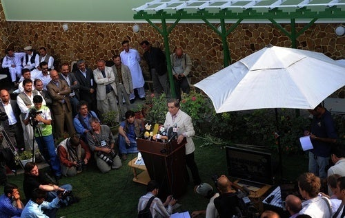 The Afghanistan Elections for People Who Aren't Paying Attention