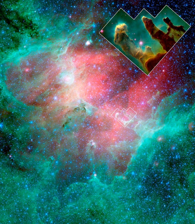 It sounds incredible but the Pillars of Creation don't exist anymore