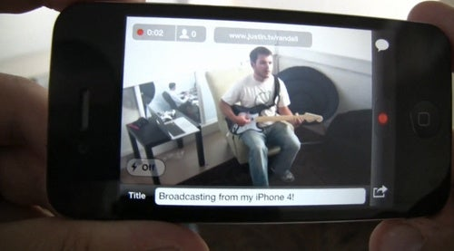 Broadcast Live Video From Your iPhone With the Justin.tv App