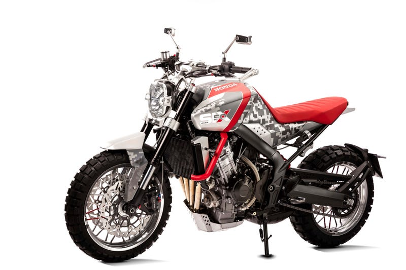 The Honda CBSix50 And CB4 Concepts: Your Modern Day Scrambler And Streetfighter