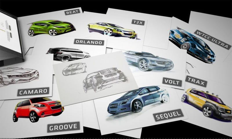 GM Europe Launches New Design Site